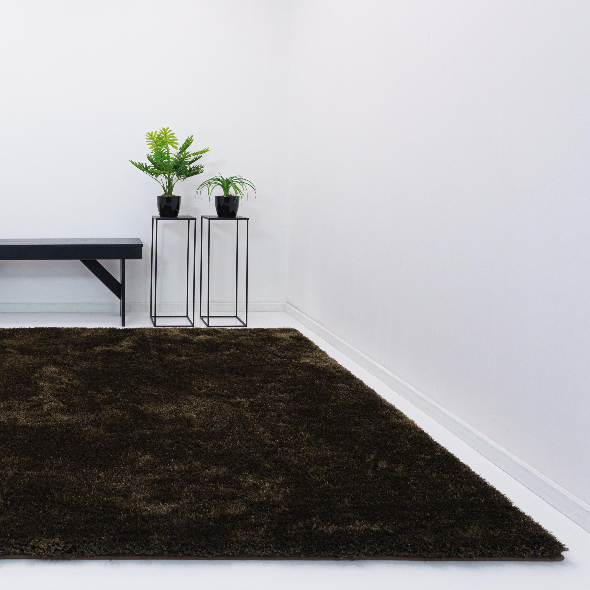 Vloerkleed Xilento Twinkle Browny | 170 x 230 cm