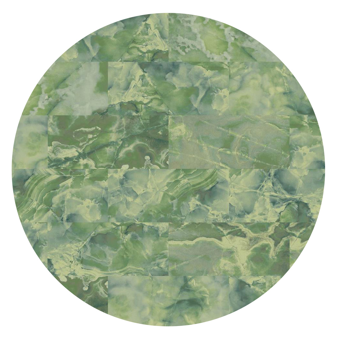 Rond Vloerkleed Desso Sense of Marble 7135