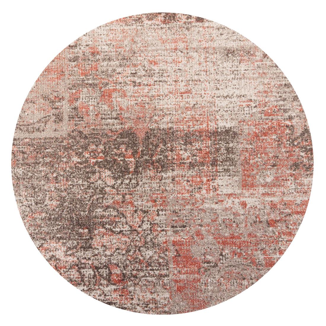 Rond Vintage Vloerkleed Raw Greige Terra