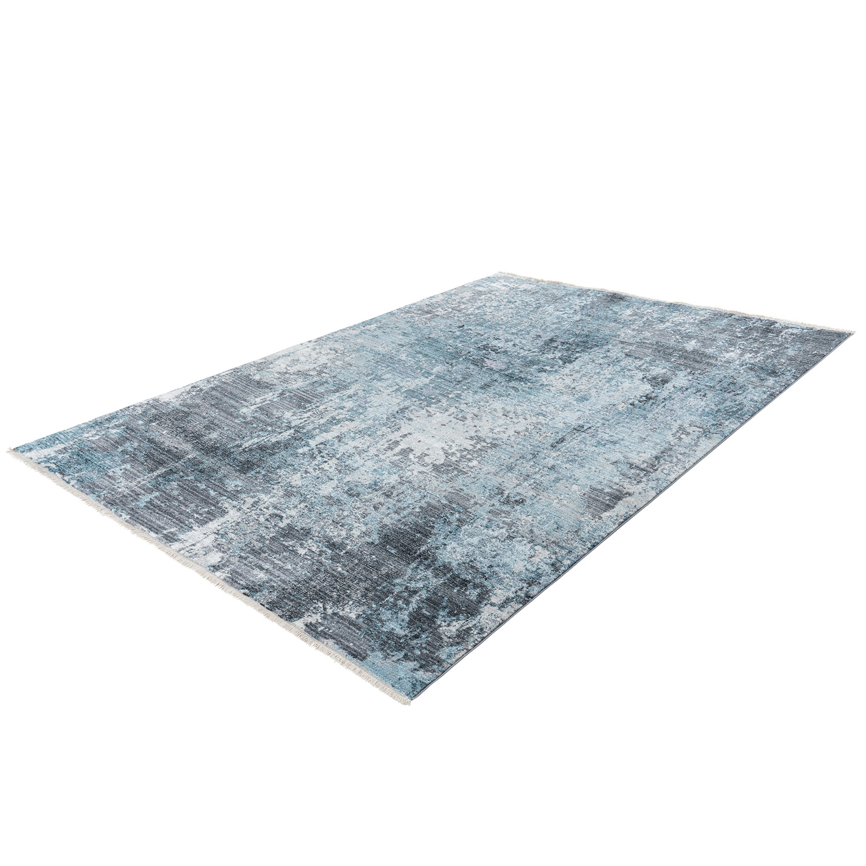 Vloerkleed Lalee Home Medellin 400 Silver Blue | 160 x 230 cm