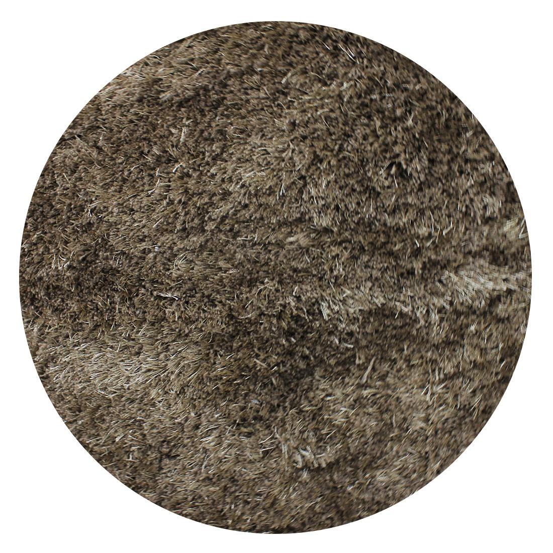 Rond Vloerkleed Xilento Velvet Brons