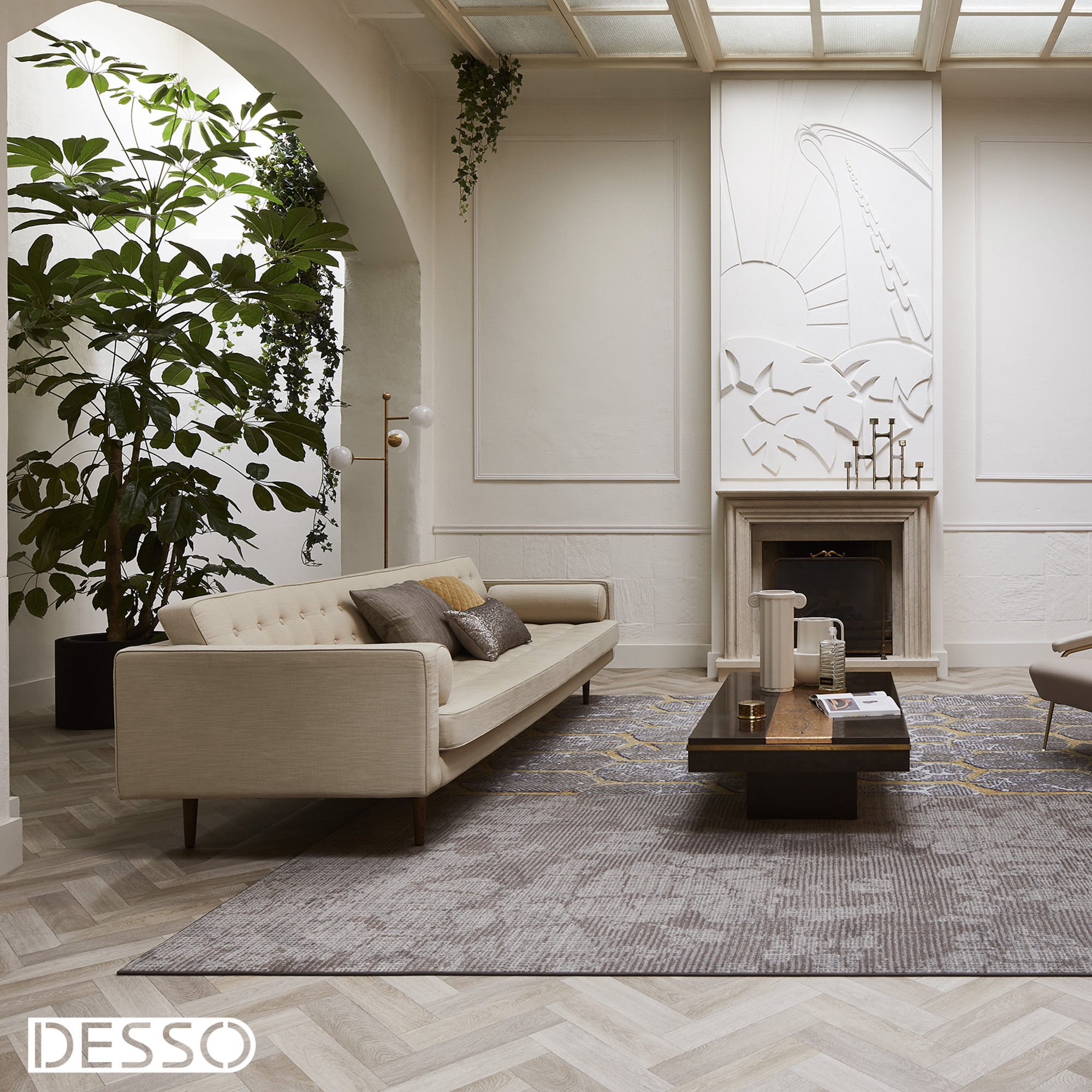 Vloerkleed Desso Art Deco 9544