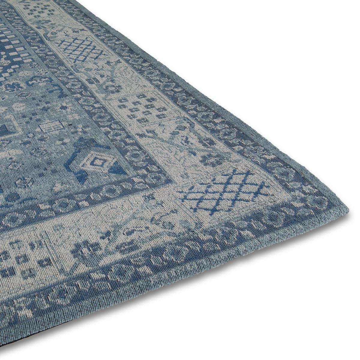 Vloerkleed Brinker Avanti Azur Blue | 200 x 290 cm