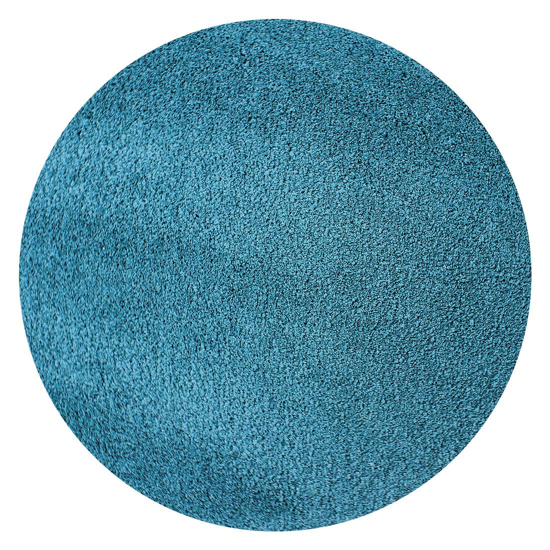 Rond vloerkleed Xilento Amazing Aqua