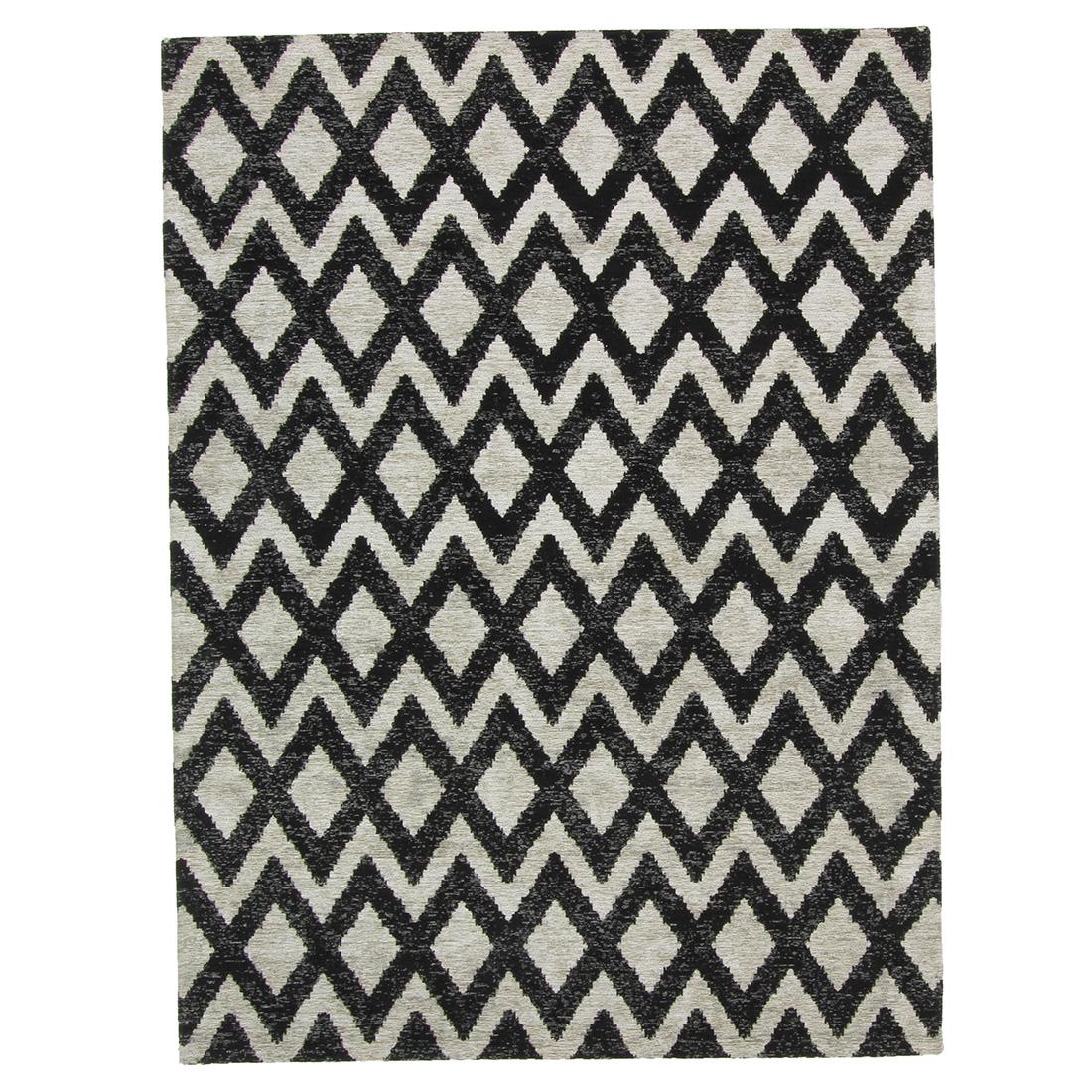Vloerkleed Brinker Geometrics Rombu Beige Black | 240 x 340 cm