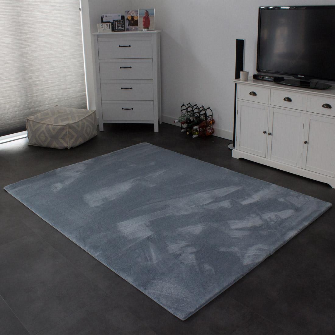 Vloerkleed Xilento Soft Oceaan | 170 x 230 cm