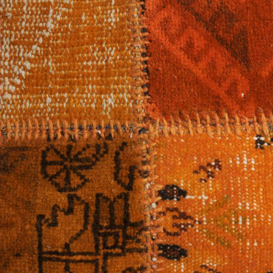 Vintage Vloerkleed Antique Handgeknoopt Orange | 170 x 230 cm