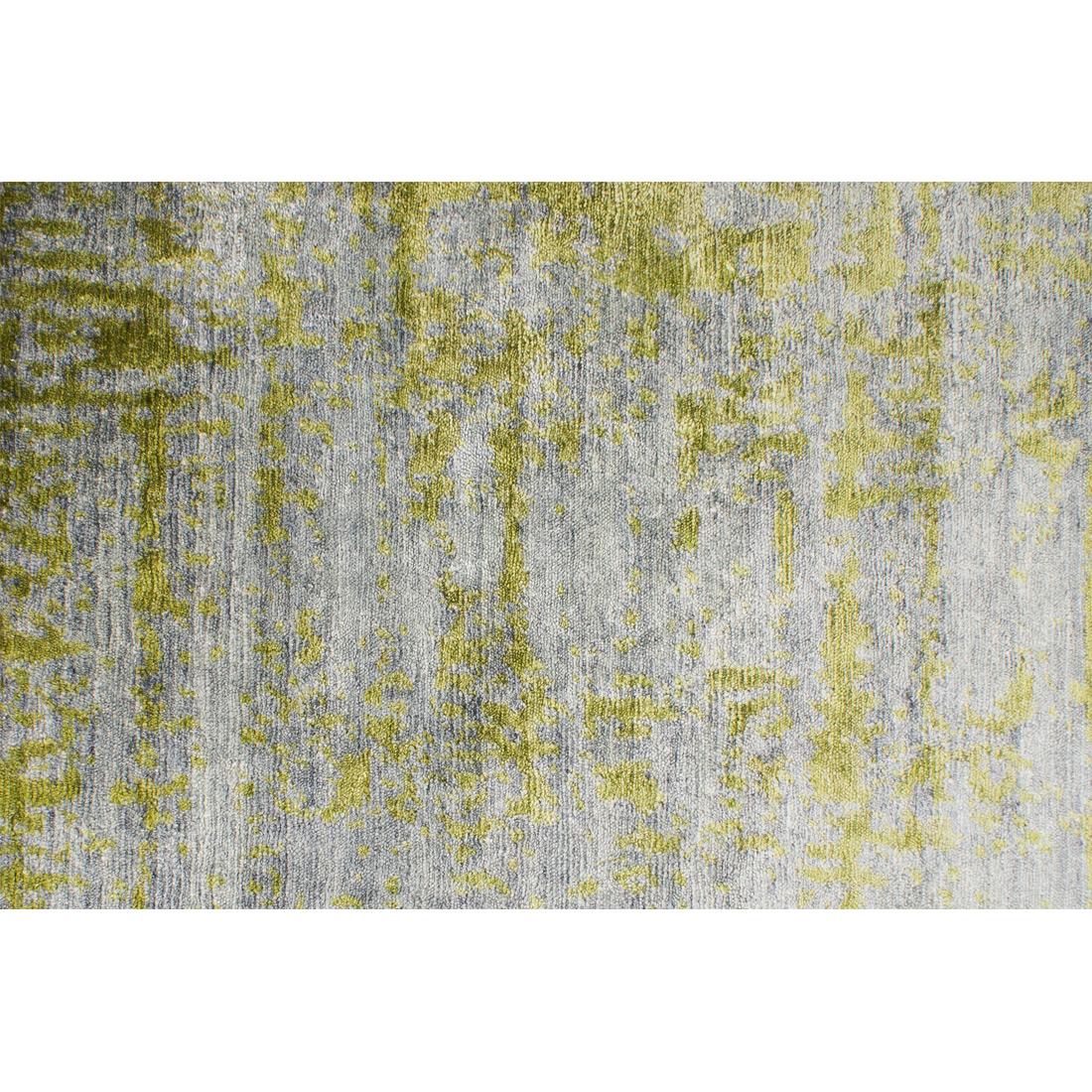 Vloerkleed Xilento Bamboo Grey Green | 200 x 300 cm