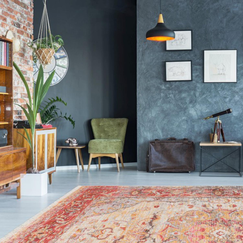 Vloerkleed Lalee Home Vintage 701 Multi | 80 x 150 cm