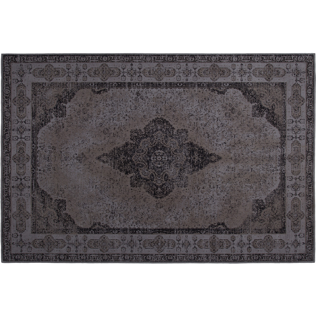 Vloerkleed Xilento Design Charcoal | 160 x 230 cm