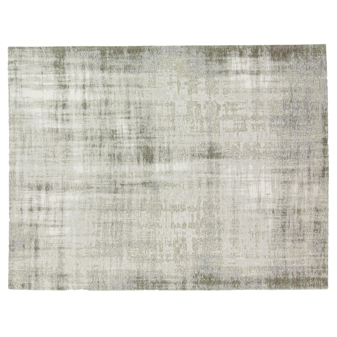 Vloerkleed Brinker Grunge Silver | 240 x 340 cm