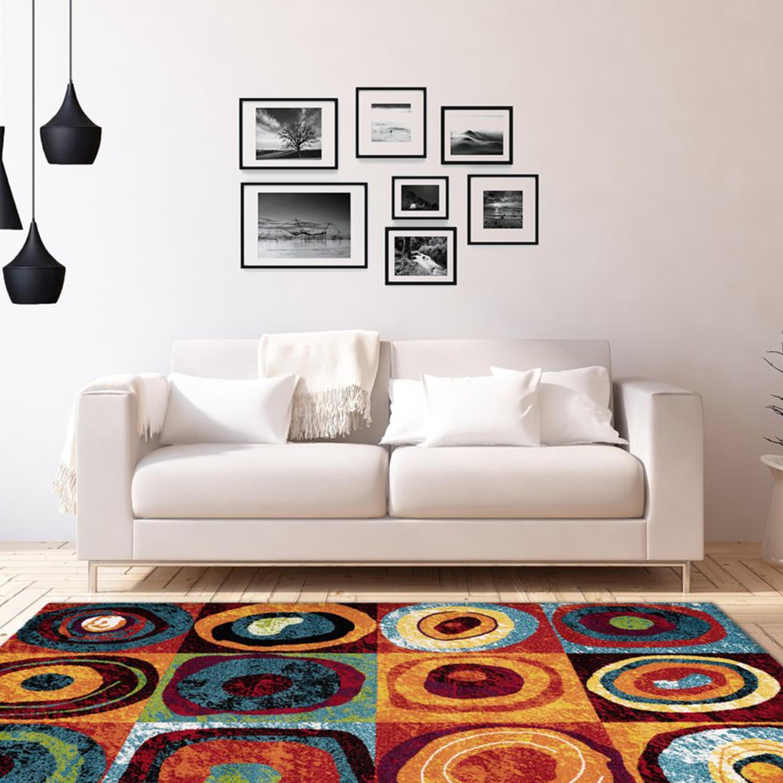 Vloerkleed Lalee Home Espo 307 Circles | 160 x 230 cm