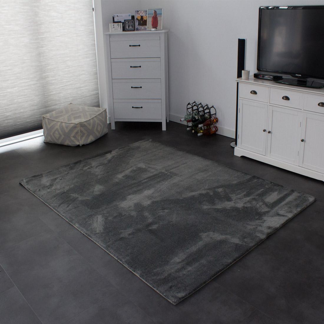 Vloerkleed Xilento Soft Basalt | 200 x 300 cm