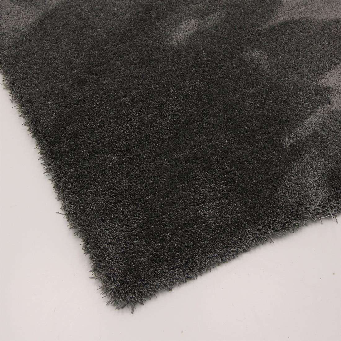Vloerkleed Xilento Silky Soft Antraciet | 200 x 300 cm