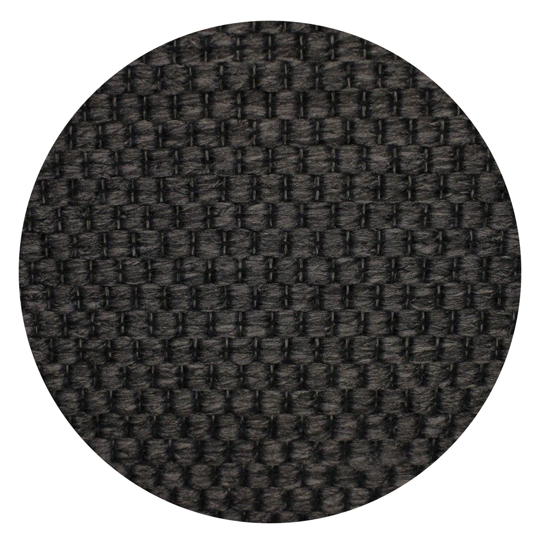 Rond Vloerkleed Casablanca Natura Geweven Anthracite
