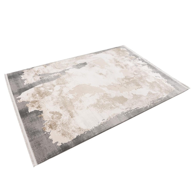Vloerkleed Lalee Pierre Cardin Trocadero 701 Beige Silver | 200 x 290 cm